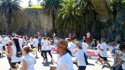 La Fundación Pérez Scremini realilzó una maratón a beneficio de la cura del cáncer infantil.