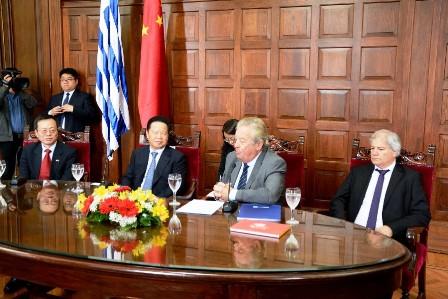 Delegación de China visita Colonia