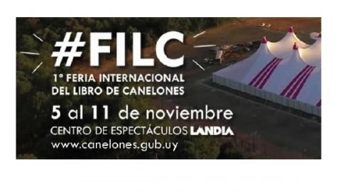 1ª Feria Internacional del Libro de Canelones.