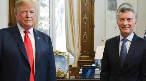 G-20 Los Presidentes Mauricio Macri y Donald Trump mantuvieron hoy un desayuno de trabajo,
