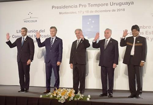 Los presidentes del MERCOSUR ratificaron su compromiso con la integración