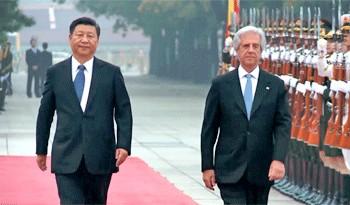 Xi Jinping reiteró importancia estratégica de las relaciones entre Uruguay y China en carta al presidente Tabaré Vázquez