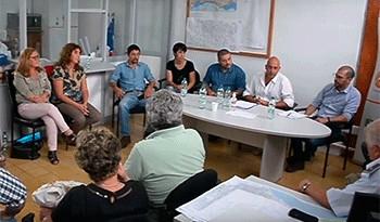 Autoridades del Sistema Nacional de Emergencias visitaron zonas inundadas en Salto y Paysandú