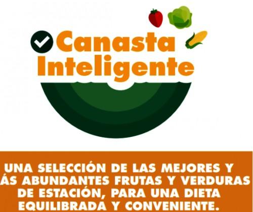 La nueva Canasta Inteligente incluye cebolla, tomate, sandía, choclo, naranja, durazno, albahaca, chaucha y calabacín