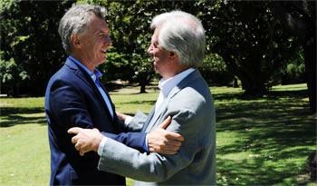 Declaración conjunta de los presidentes de Uruguay y Argentina