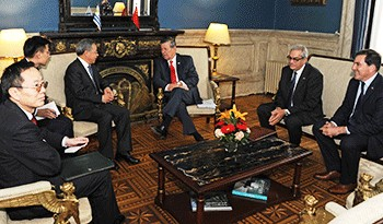 Acuerdos entre Uruguay y China