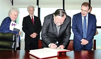 José Bayardi asumió como ministro de Defensa Nacional