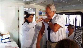 Comenzó la campaña de vacunación antigripal 2019 con 400 vacunatorios en todo el país