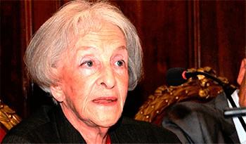 La poeta uruguaya Ida Vitale recibió el premio de Literatura Miguel de Cervantes