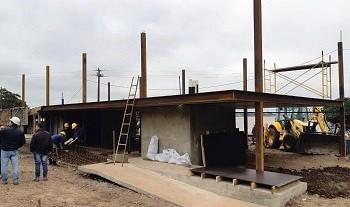 Estación fluvial en Bella Unión presenta avance de obra de 40 % y finalizará entre julio y agosto
