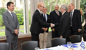 Tabaré Vázquez dialogó con embajadores de la Unión Europea sobre acuerdo comercial, situación en Venezuela y relación bilateral