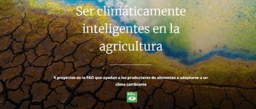Ser climáticamente inteligentes en la agricultura