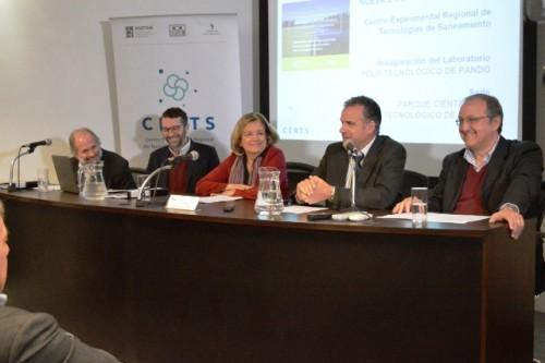 Primer Centro Experimental Regional de Saneamiento de Uruguay inauguró en Pando