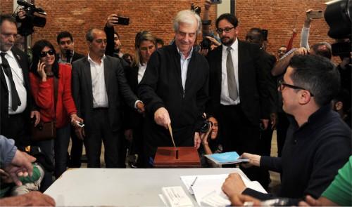 Elecciones Uruguay 2019 - Palabras hoy temprano Presidente Tabaré Vázquez