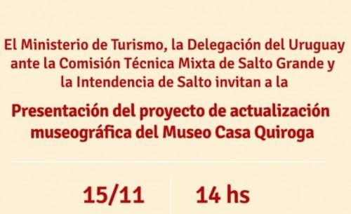 Actualización museográfica del Museo Casa Quiroga