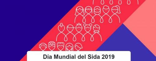 1 de Diciembre Día Mundial de la Lucha contra el Sida 2019