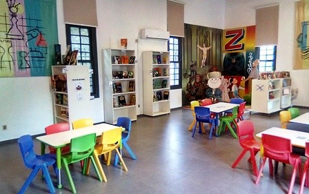 Biblioteca Infantil del Castillo del Parque Rodó