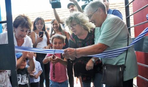 Centro comunitario infantil Villa Prosperidad de Montevideo se sumó con nueva infraestructura al Sistema de Cuidados