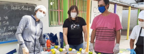 Alimentación en semana de turismo para Escolares