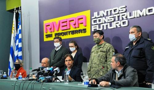 COVID-19 en Rivera: Gobierno presentó medidas especiales