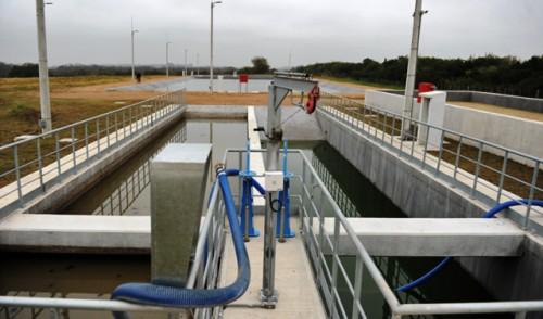 OSE y Montes del Plata inauguraron planta de tratamiento de líquidos barométricos en Colonia