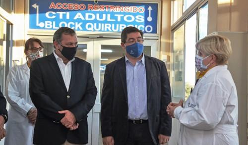 Hospital de Salto se posiciona como centro regional de atención COVID-19 y suma 24 nuevas camas