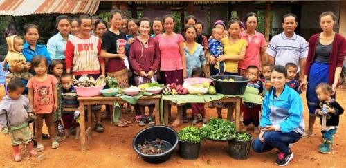 Las mujeres como impulsoras de cambios para la nutrición en las colinas de la República Democrática Popular Lao