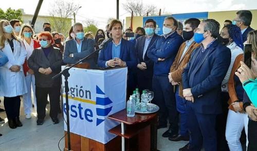Lacalle Pou agradeció a cada trabajador de la salud por su esfuerzo durante la pandemia