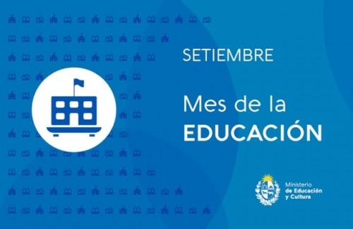 Setiembre: mes de la Educación
