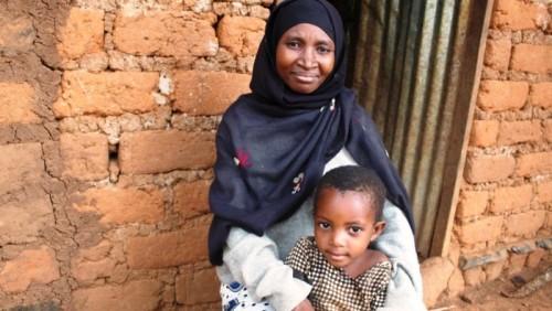 """Los innovadores huertos de """"ojo de cerradura"""" ayudan a los refugiados a mejorar su nutrición"""