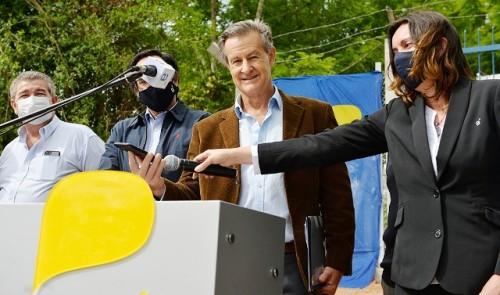 Lacalle Pou participó vía telefónica en inauguración de nueva base LTE de Antel en Paso del Cerro, Tacuarembó