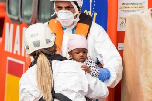 OIM y ACNUR realizan una visita conjunta a Canarias ante el aumento de llegadas de personas migrantes y refugiadas