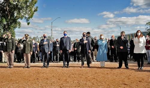 Presidente Lacalle Pou participó de la celebración del 210.° aniversario de la Batalla de Las Piedras