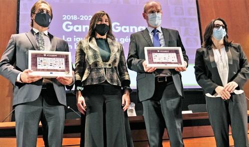 Presidente Lacalle Pou encabezó ceremonia de premiación El Talento No Tiene Género