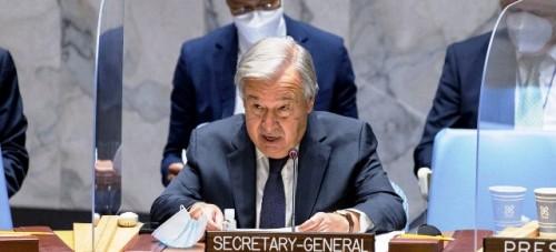 No podemos ni debemos abandonar al pueblo de Afganistán dice Guterres al Consejo de Seguridad