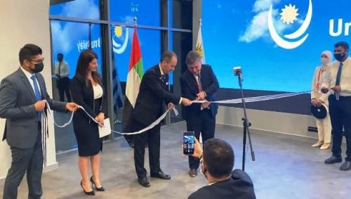 Uruguay inauguró el pabellón nacional en la exposición universal de Dubái